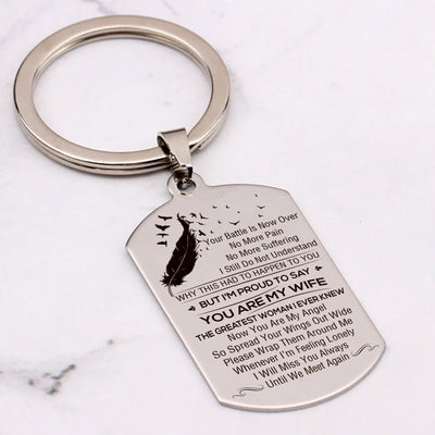 WIDOWER - THE GREATEST WOMAN - KEY CHAIN 1