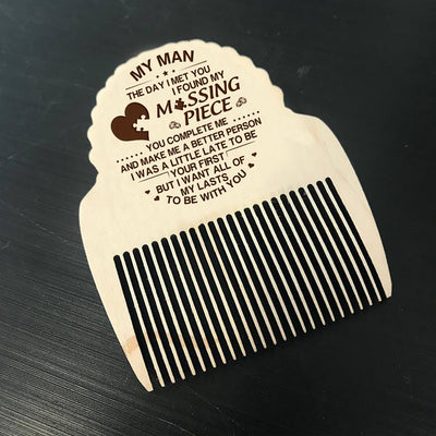 MY MAN - MISSING PIECE - BEARD COMB