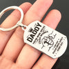 DADDY - DRIVE SAFELY - KEY CHAIN 1