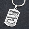 HUSBAND WIFE - DRIVE SAFE - KEY CHAIN