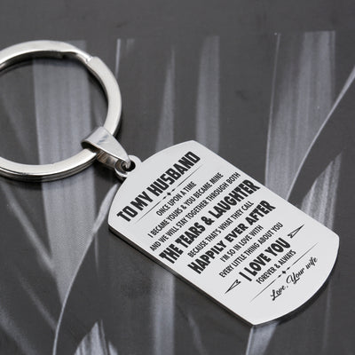 HUSBAND - HAPPILY EVER AFTER - KEY CHAIN