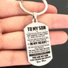 SON MOM - THE PROUDEST MOMENT - KEY CHAIN 1