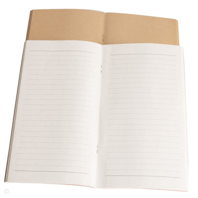 Journal Refills Lined and Blank Paper - Set of 2