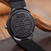 SON DAD - GUIDANCE AND SUPPORT - WOOD WATCH