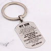 SON DAD - ALWAYS BE THERE - KEY CHAIN 1
