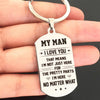 MY MAN - I'M HERE - KEY CHAIN 1
