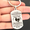 DAUGHTER DAD - BELIEVE - KEY CHAIN 1