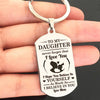 DAUGHTER MOM - BELIEVE - KEY CHAIN 1