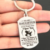 DAUGHTER MUM - BELIEVE - KEY CHAIN 1