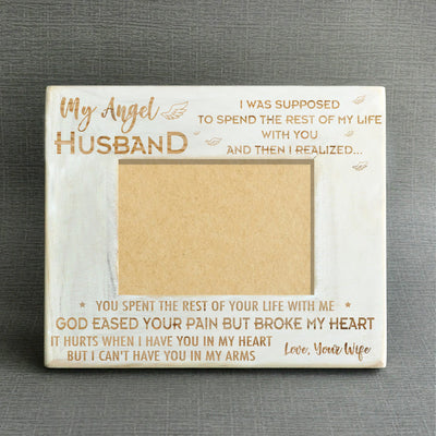 ANGEL HUSBAND - WOOD FRAME