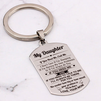 DAUGHTER MOM - ALWAYS BE THERE - KEY CHAIN 1