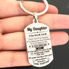 DAUGHTER DAD - ALWAYS BE THERE - KEY CHAIN 1