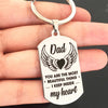 DAD - MY HEART - KEY CHAIN 1