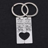 ALWAYS BE SAFE - COUPLE KEY CHAIN