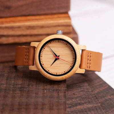 DAUGHTER DAD - NEVER LOSE - WOOD WATCH