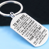DAD SON - THANK YOU - KEY CHAIN 1