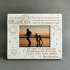 GRANDPA GRANDSON - BRILLIANT STARS - WOOD FRAME