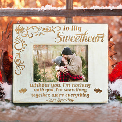 SWEETHEART - TOGETHER WE ARE EVERYTHING - WOOD FRAME