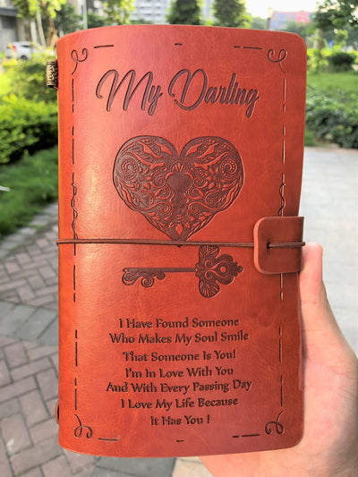 DARLING - WHO MAKES MY SOUL SMILE - VINTAGE JOURNAL