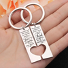LOVE AND THANK - COUPLE KEY CHAIN