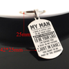 MY MAN - A SEAT - KEY CHAIN 1