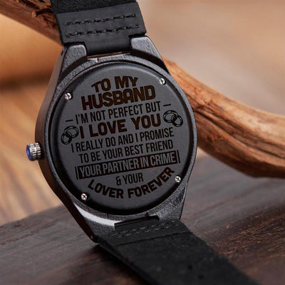 HUSBAND - EVERYTHING - WOOD WATCH