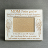 UNHEALABLE AND UNFORGETTABLE - MOM - WOOD FRAME