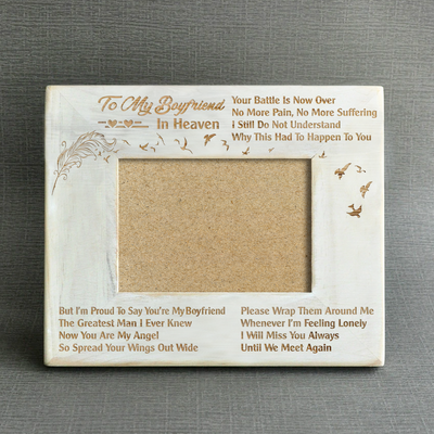 MISSING - YOU'RE MY BOYFRIEND - WOOD FRAME