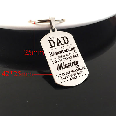 DAD - MISSING YOU - KEY CHAIN 1
