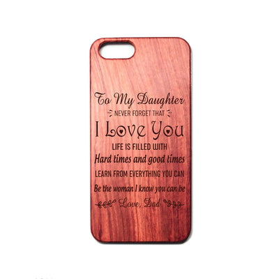 DAUGHTER DAD - BE THE WOMAN - PHONE CASE