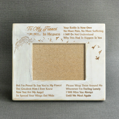 MISSING - YOU'RE MY FIANCÉ - WOOD FRAME