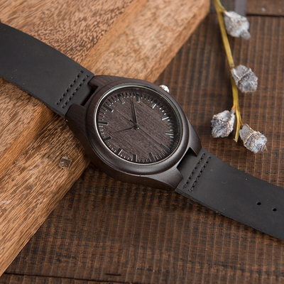 GRANDSON GRANDPA - THE GREATEST GIFT - WOOD WATCH