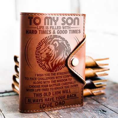 SON DAD - HAVE YOUR BACK - JOURNAL COVER