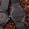 FOR GAY BOYFRIEND - MY LOVE FOR YOU - WOOD WATCH