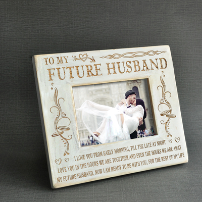 MY FUTURE HUSBAND - I AM READY - WOOD FRAME