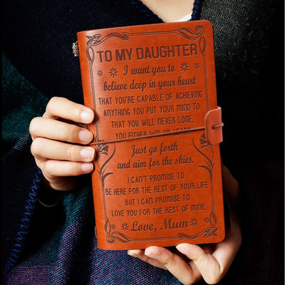 DAUGHTER MUM - NEVER LOSE 2 - VINTAGE JOURNAL
