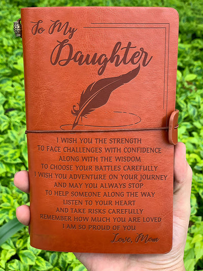 DAUGHTER MOM - I WISH YOU 2 - VINTAGE JOURNAL