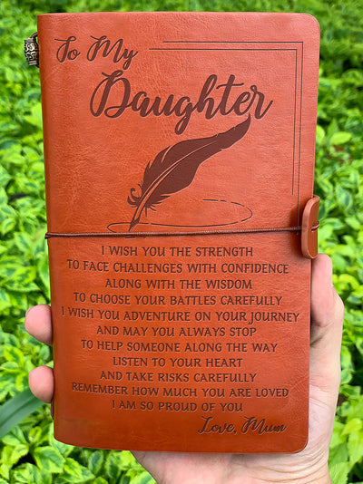 DAUGHTER MUM - I WISH YOU 2 - VINTAGE JOURNAL