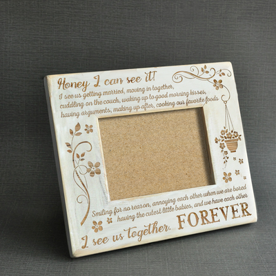 HONEY - I CAN SEE IT! - WOOD FRAME