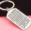DAUGHTER DAD - I BELIEVE - KEY CHAIN