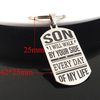 SON - BY YOUR SIDE - KEY CHAIN 1