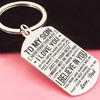 SON DAD - DO YOUR BEST - KEY CHAIN 1