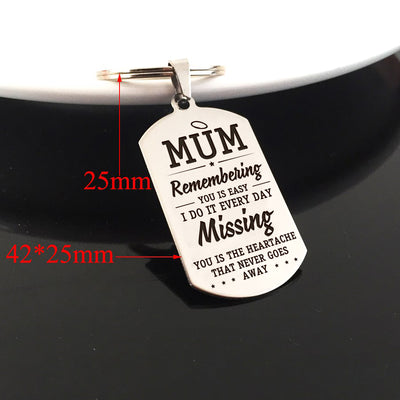 MUM - MISSING YOU - KEY CHAIN 1