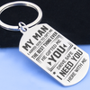 MY MAN - BEST THING EVER - KEY CHAIN 1