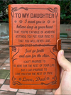 DAUGHTER DAD - NEVER LOSE 2 - VINTAGE JOURNAL