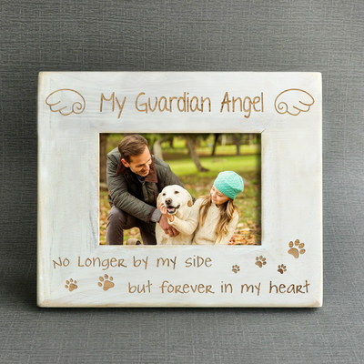 MY GUARDIAN ANGEL - PET - WOOD FRAME
