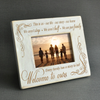 FOR YOUR STEP FAMILY - WOOD FRAME
