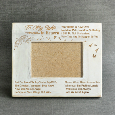 MISSING - YOU'RE MY WIFE - WOOD FRAME