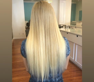 Platinum Blonde Clip-in