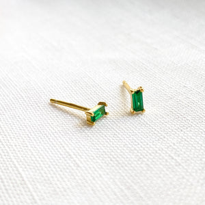 Timeless Emerald Green Crystals Set in Sterling Silver